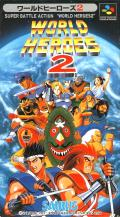 World Heroes 2 SNES Front Cover