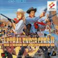 Lethal Enforcers II: Gun Fighters SEGA CD Front Cover
