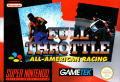 Full Throttle: All-American Racing SNES Front Cover