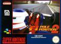 F1 Pole Position 2 SNES Front Cover