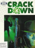 Crack Down DOS Front Cover