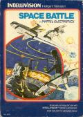 Space Battle Intellivision Front Cover