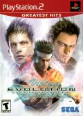 Virtua Fighter 4: Evolution PlayStation 2 Front Cover