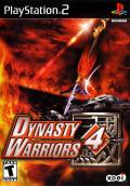 Dynasty Warriors 4 PlayStation 2 Front Cover