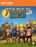 Fable Heroes Xbox 360 Front Cover