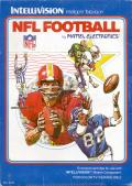 NFL Football Intellivision Front Cover
