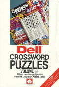 Dell Crossword Puzzles Volume III DOS Front Cover