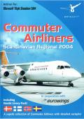 Commuter Airliners: Scandinavian Regional 2004 Windows Front Cover