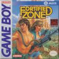 Fortified Zone Game Boy Front Cover