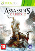 Assassin's Creed III Xbox 360 Front Cover