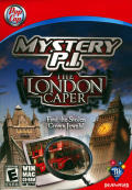 Mystery P.I.: The London Caper Macintosh Front Cover
