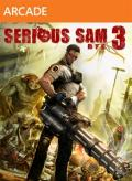 Serious Sam 3: BFE Xbox 360 Front Cover