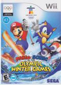 Mario & Sonic at the Olympic Winter Games Wii Front Cover