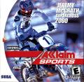 Jeremy McGrath Supercross 2000 Dreamcast Front Cover