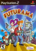 Futurama PlayStation 2 Front Cover