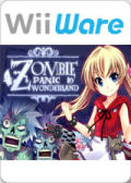 Zombie Panic in Wonderland Wii Front Cover