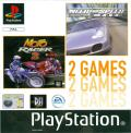 Need for Speed: Porsche 2000 / Moto Racer 2 PlayStation Front Cover