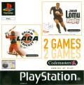 Jonah Lomu Rugby / Brian Lara Cricket PlayStation Front Cover