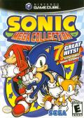 Sonic Mega Collection GameCube Front Cover