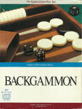 Backgammon DOS Front Cover