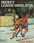 Hockey League Simulator DOS Front Cover