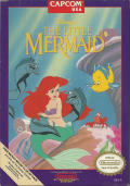 Disney's The Little Mermaid NES Front Cover