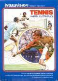 Tennis Intellivision Front Cover