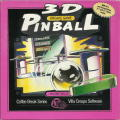 3D Pinball DOS Front Cover