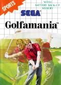 Golfamania SEGA Master System Front Cover