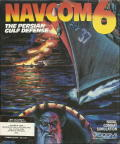 Navcom 6: The Persian Gulf Defense Commodore 64 Front Cover