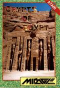 Crypts of Egypt Atari 8-bit Front Cover