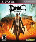 DmC: Devil May Cry PlayStation 3 Front Cover