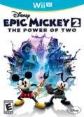 Disney Epic Mickey 2: The Power of Two Wii U Front Cover