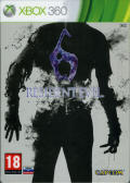 Resident Evil 6 Xbox 360 Front Cover with cover filter