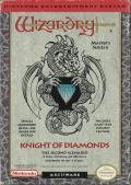Wizardry: Knight of Diamonds - The Second Scenario NES Front Cover