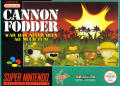 Cannon Fodder SNES Front Cover