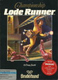 Championship Lode Runner PC Booter Front Cover