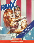 Ranx: The Video Game DOS Front Cover