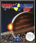 Purple Saturn Day Atari ST Front Cover