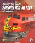 Microsoft Train Simulator: Regional Add-On Pack: USA and Canada Windows Front Cover