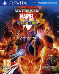 Ultimate Marvel vs. Capcom 3 PS Vita Front Cover