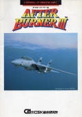 After Burner III FM Towns Front Cover