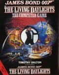 James Bond 007 in The Living Daylights: The Computer Game Amstrad CPC Front Cover