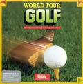 World Tour Golf Commodore 64 Front Cover