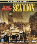 TalonSoft's West Front: Operation Sea Lion Windows Front Cover