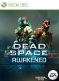 Dead Space 3: Awakened Xbox 360 Front Cover