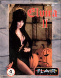 Elvira II: The Jaws of Cerberus Commodore 64 Front Cover