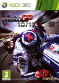 MotoGP 10/11 Xbox 360 Front Cover