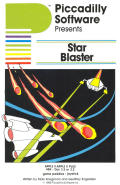 Star Blaster Apple II Front Cover