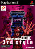 beatmania IIDX 3rd style PlayStation 2 Front Cover